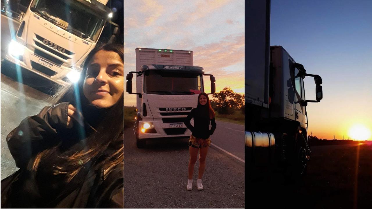 Mujeres camioneras