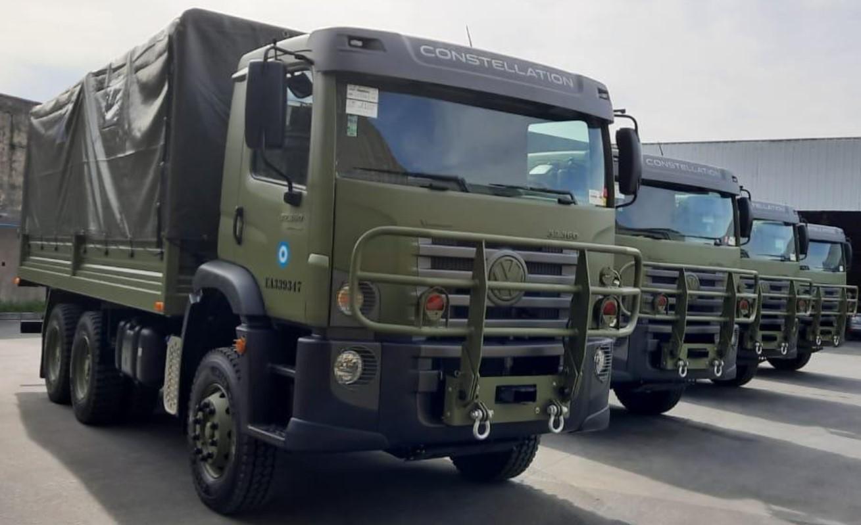 Ejército Argentino Camiones Volkswagen Constellation