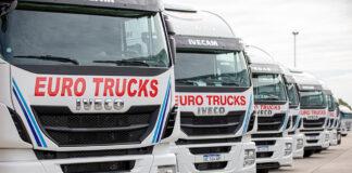 Eurotrucks amplió su flota con camiones Iveco