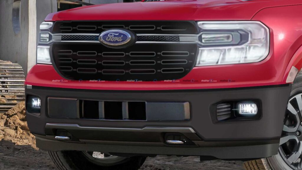 Nueva Pick up Ford Frontal