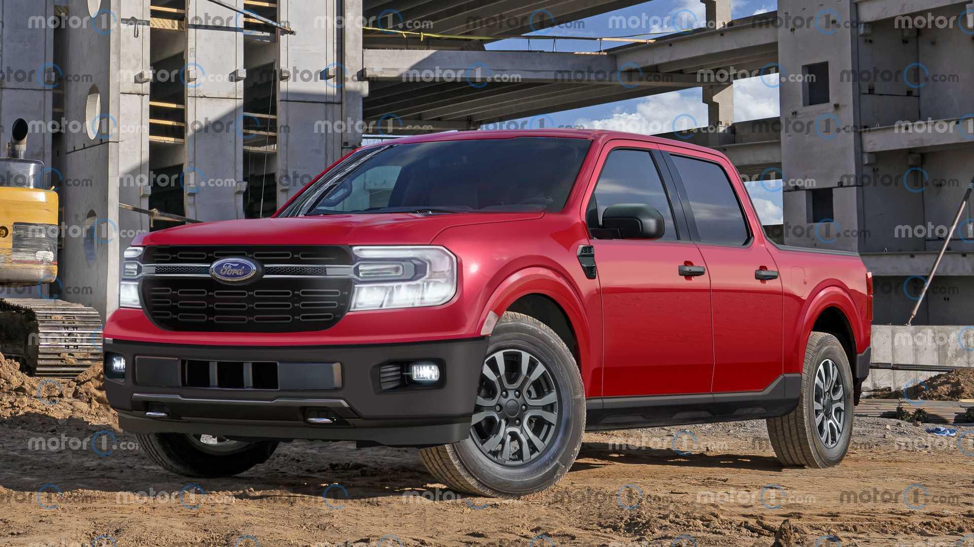 Nueva Pick up Ford Maverick
