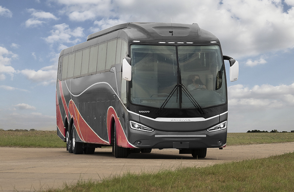 Volvo en Argentina Buses