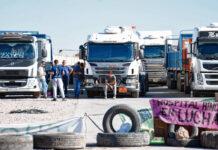 Camioneros y rehenes en Neuquen