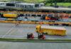 F.1 y DHL, sociedad logística