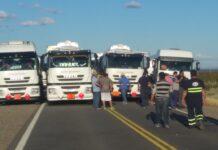 Corte de rutas en Neuquén