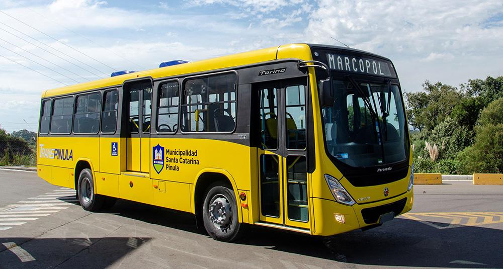 Marcopolo y Volvo exportan juntos a Guatemala