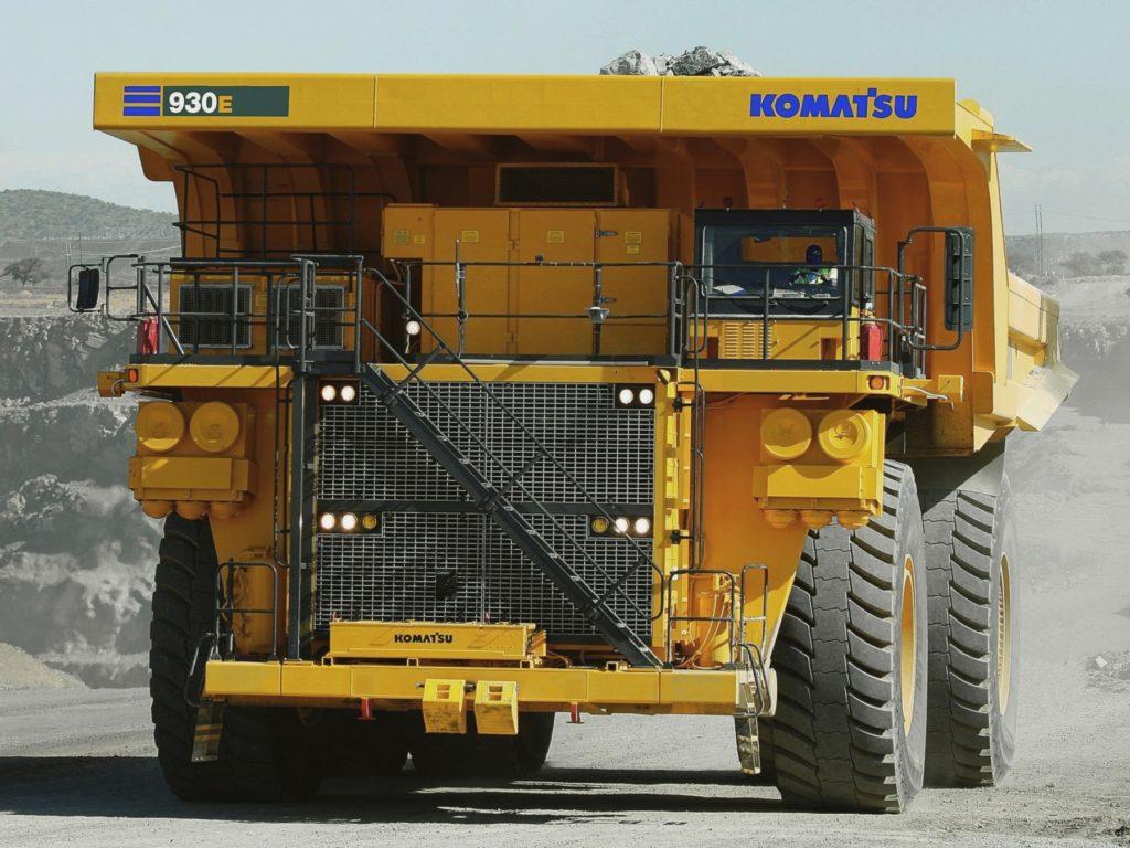 komatsu desarrolla tecnología para la minería