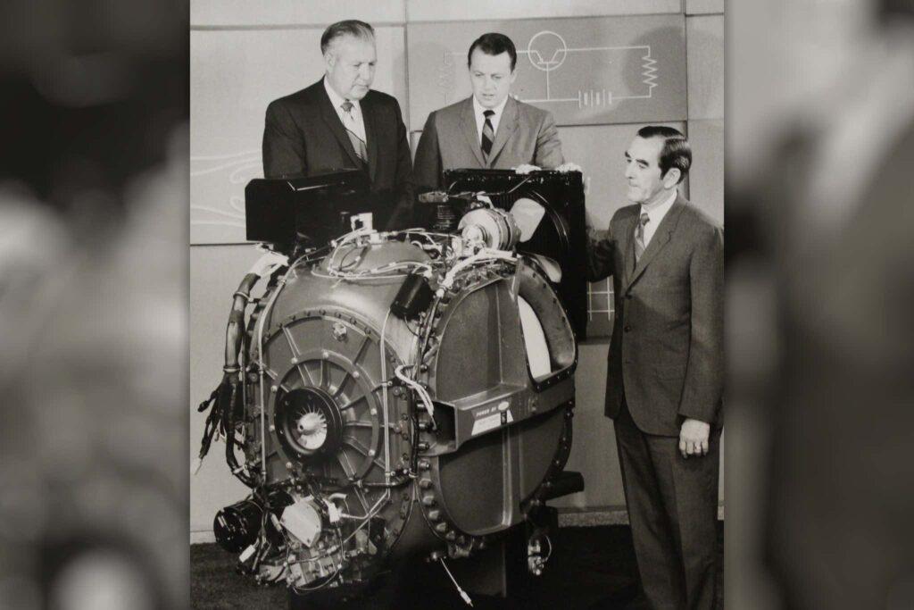 El futuro visto desde los años 60. La turbina del Big Red