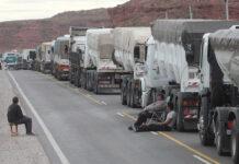 Sin combustible por el conflicto neuquino