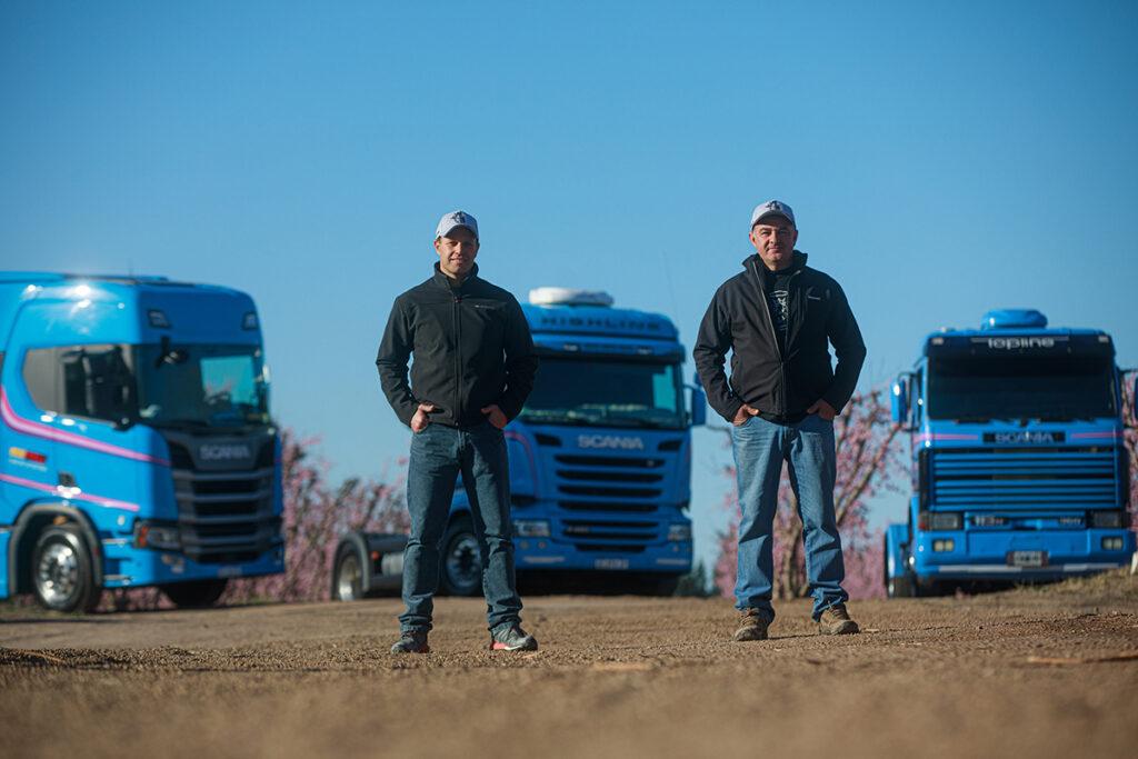 Tres generaciones Scania en ruta