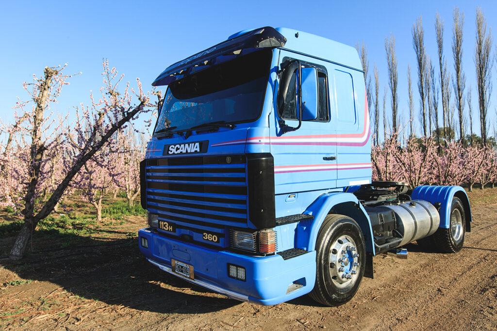 Tres generaciones Scania Topline