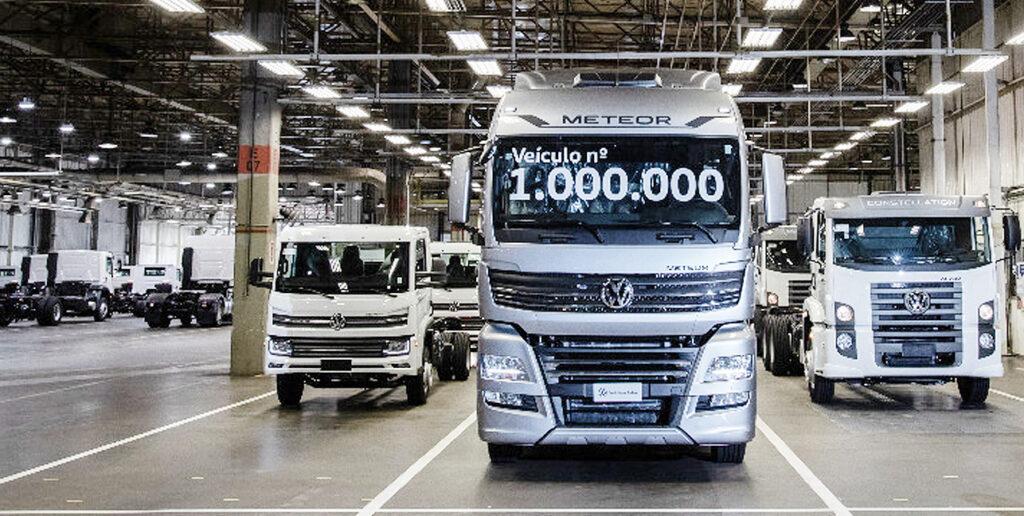 VW Meteor 1000 unidades vendidas