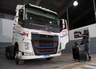 Transportes Hermanos Braiotta, taller in situ Volvo Trucks