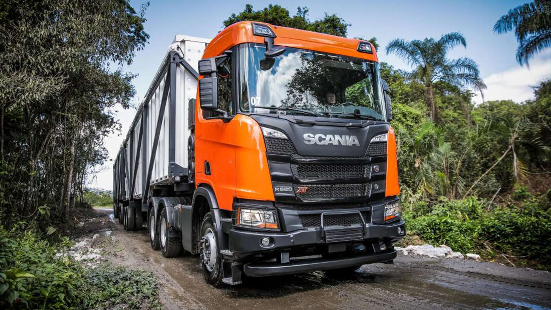 Facilidades para acceder un Scania