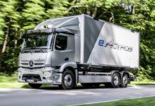 Mercedes Benz ya produce el eActros