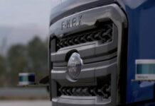 El camión que se estaciona solo