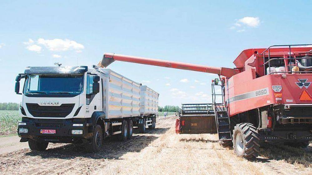 Granos por camiones