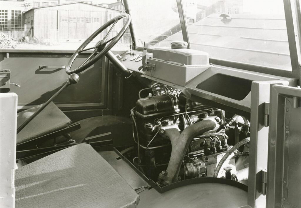 Unimog prototipo motor