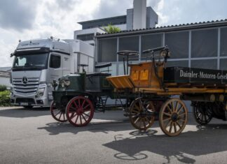 El primer camión de Mercedes-Benz