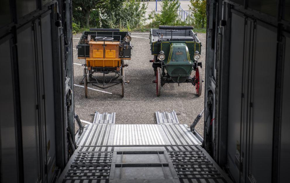 Camiones históricos de Mercedes-Benz