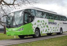 Nuevo bus Scania a GNC