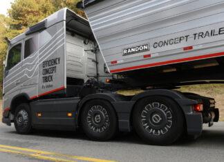 De avanzada Efficiency Concept Truck Volvo