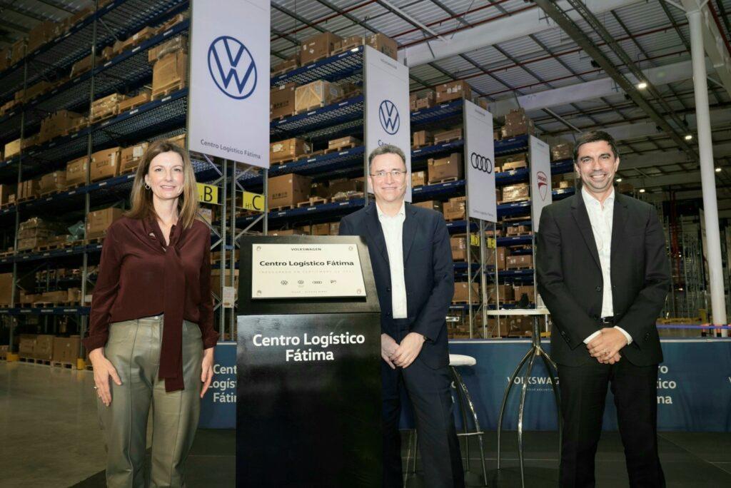 Nuevos centro logístico Volkswagen inauguración