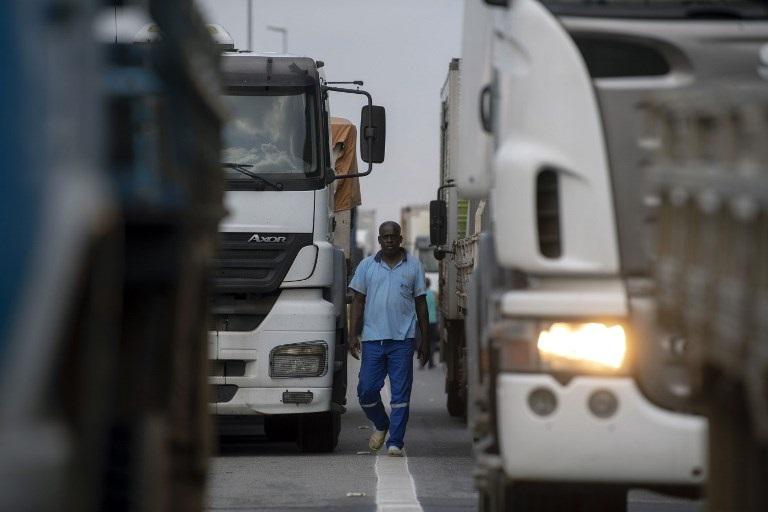sin camioneros