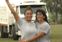 Homenaje a las madres camioneras Volkswagen Camiones y Buses