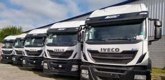 ID Logistics probó y adquirió cinco IVECO Stralis a GNC