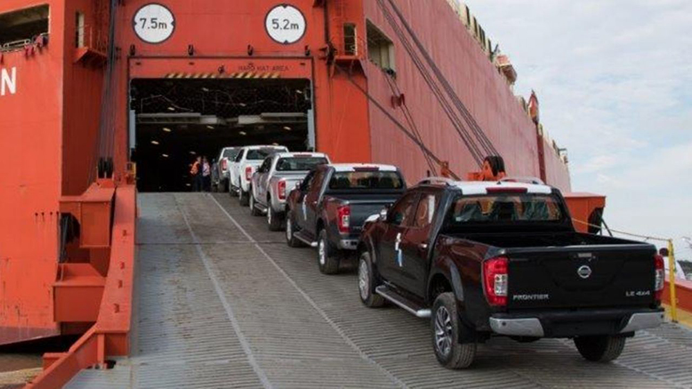 25 mil Nissan Frontier exportadas a Brasil